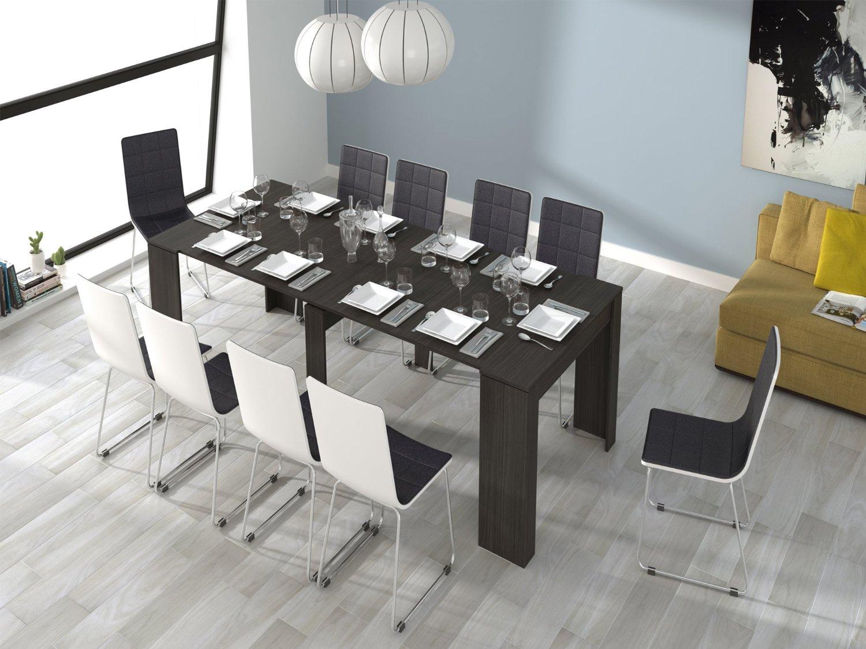 Mesa de comedor extensible bloc xl en - Mesas plegables para salon ...