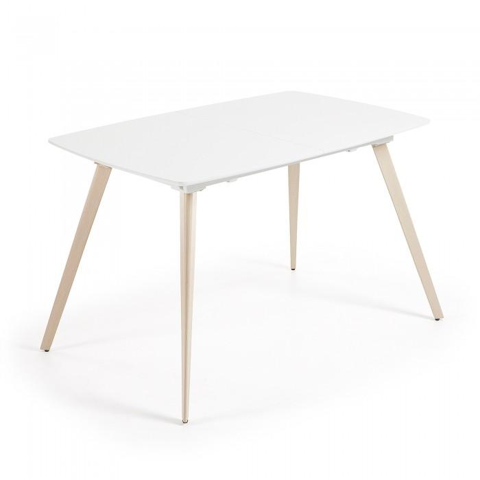 Compra mesas de comedor en - Mesa blanca y madera ...