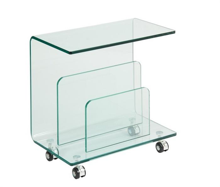 Mesas auxiliares con ruedas finest mesa auxiliar cristal for Mesa cocina con ruedas