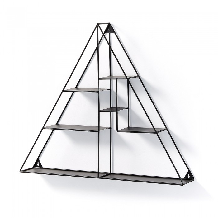 ESTANTERIA PARED METAL TRIANGULO