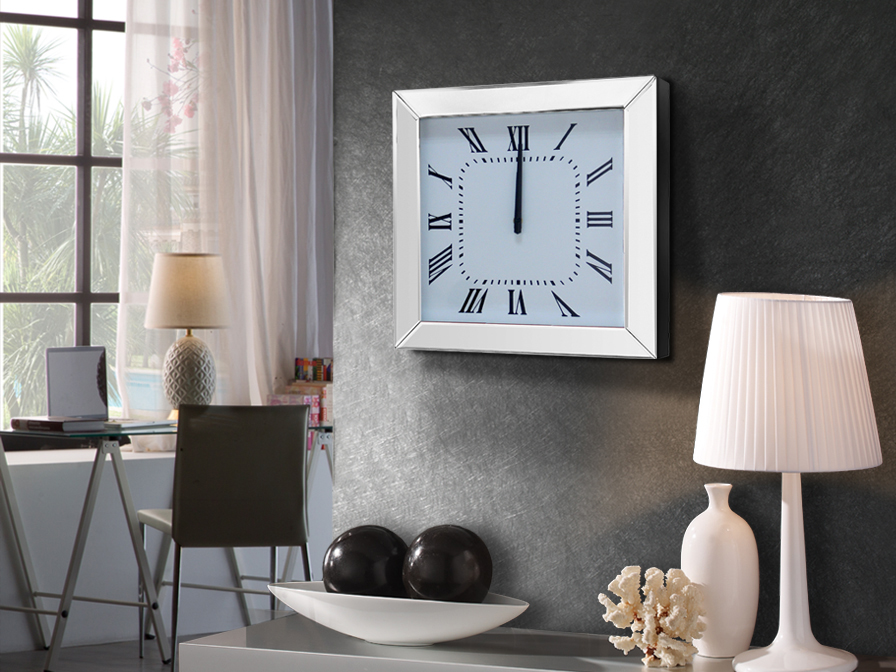 RELOJ DE PARED ·ADAM· 40X40