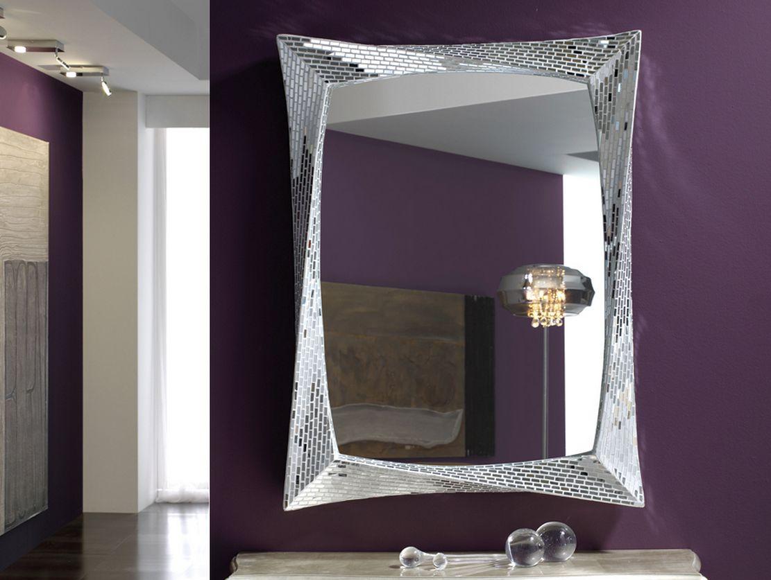 Compra espejos gaudi en for Espejos rectangulares plateados
