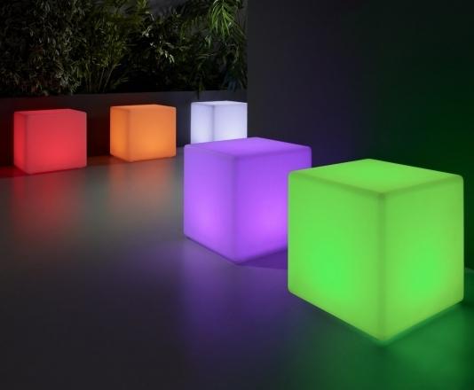 Compra Cubos Iluminados En Hogardecora Es