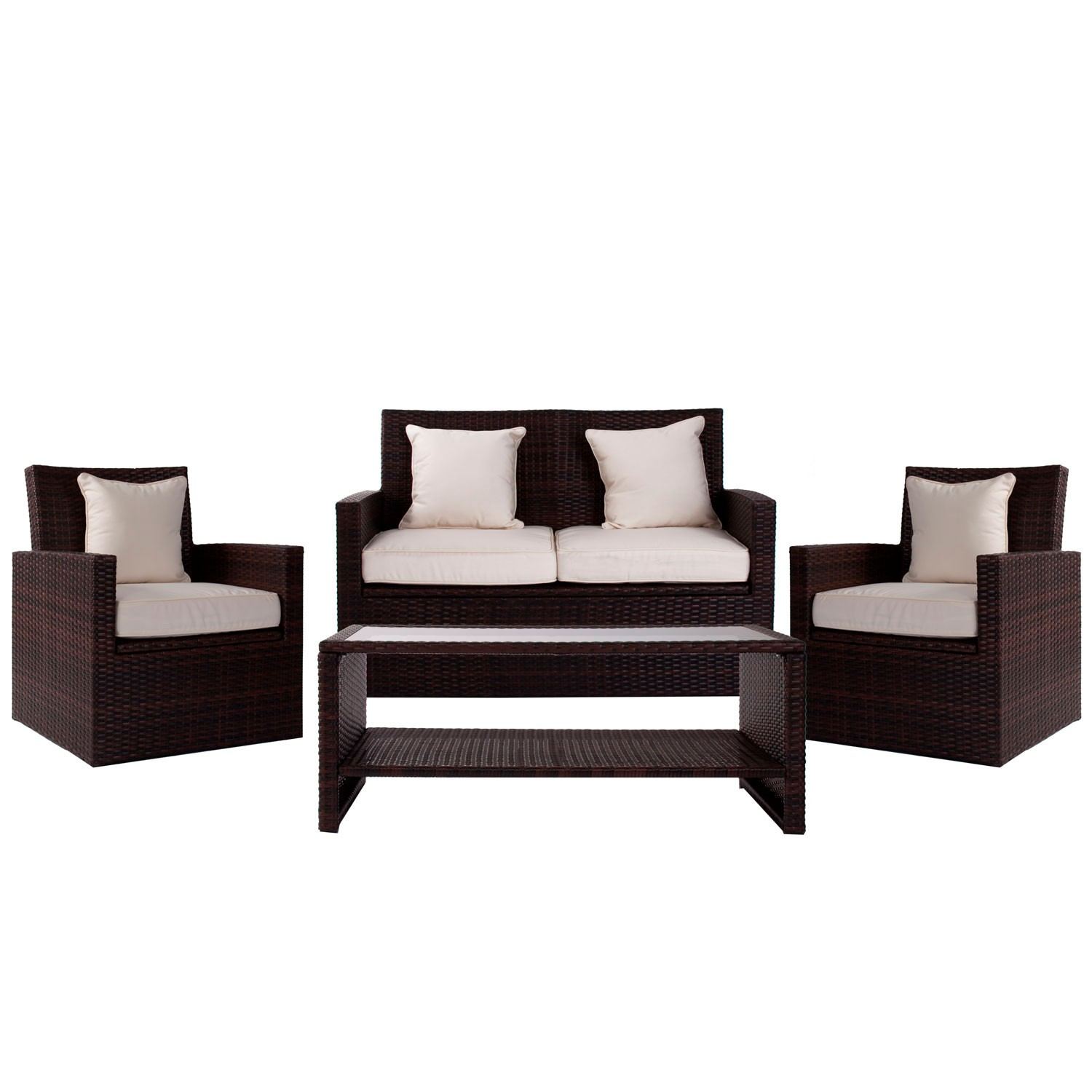 Set de 4 Muebles Jardin Cool en Hogardecora.es