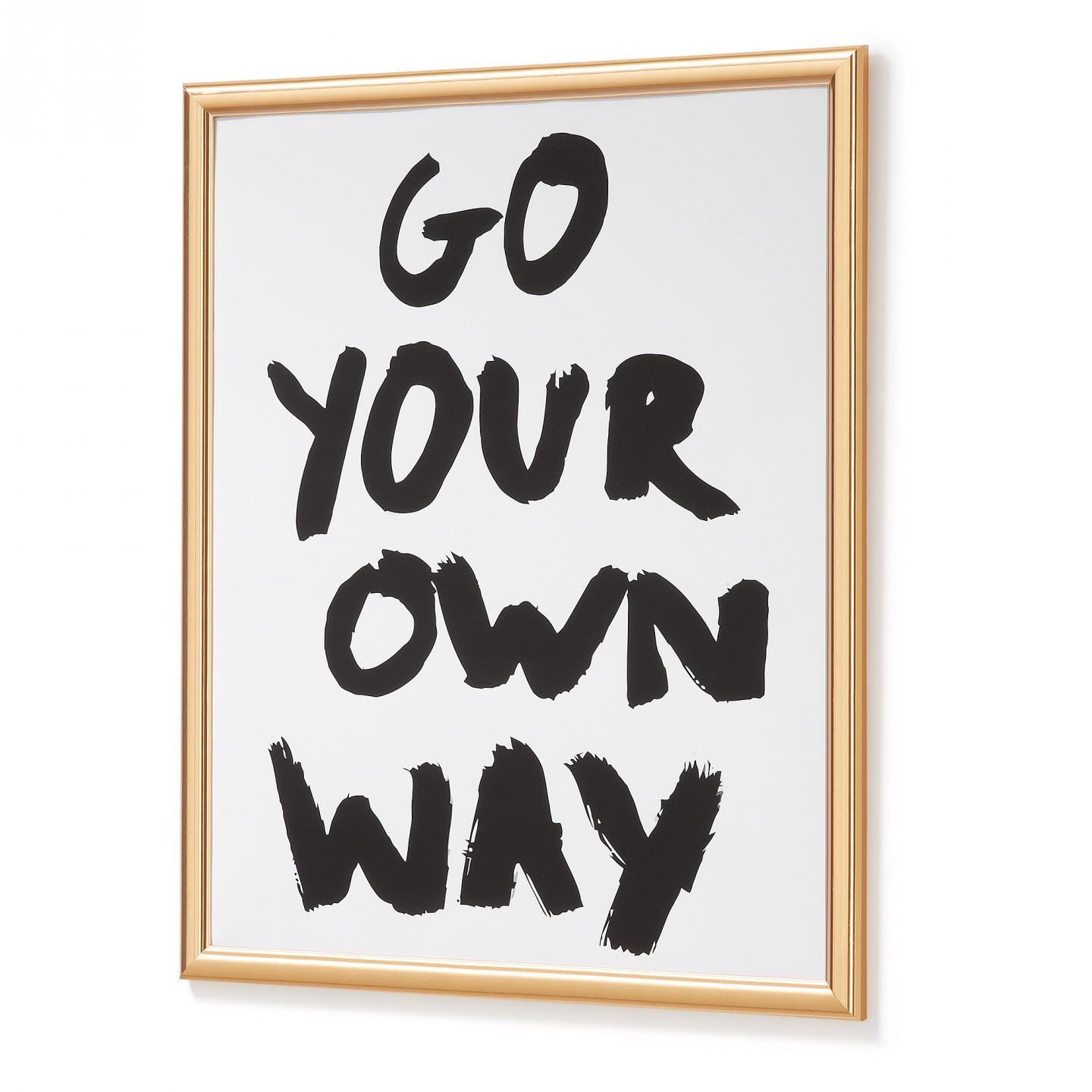 CUADRO GO YOUR WAY 54X44 CM