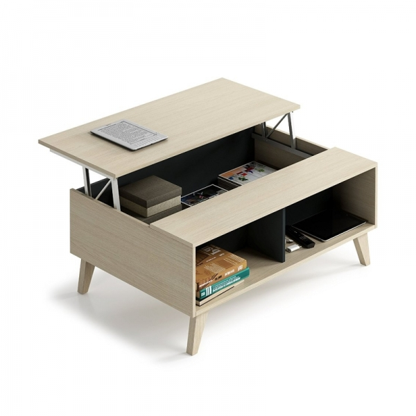 MESA DE CENTRO STYLUS PLUS  ROBLE