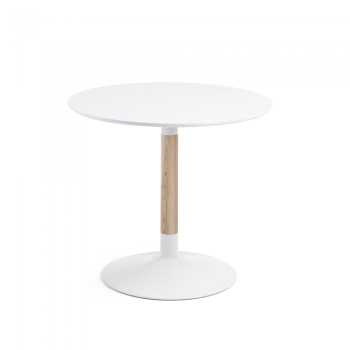 Compra mesas de comedor en for Mesa redonda blanca