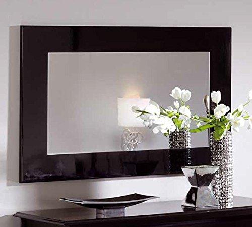 Espejo lacado negro en - Espejo marco negro ...
