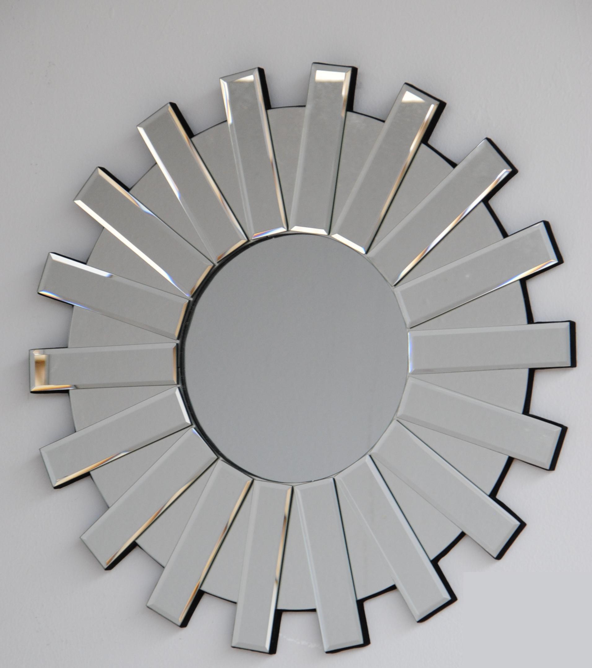 Espejo clap de cristal en for Espejos modernos cristal