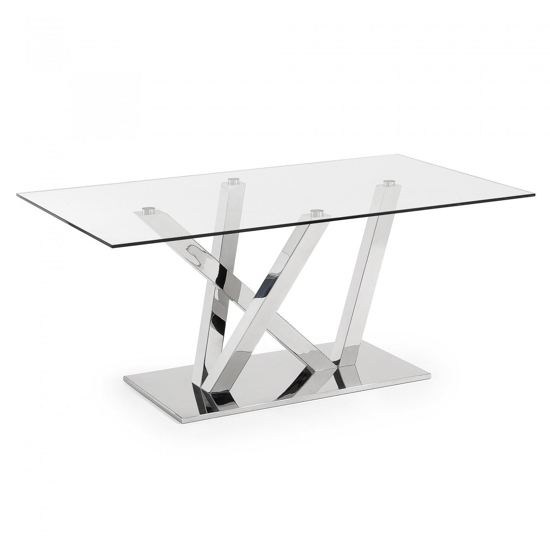 Mesa comedor beuer cristal varios acabados y medidas en for Cristal mesa a medida