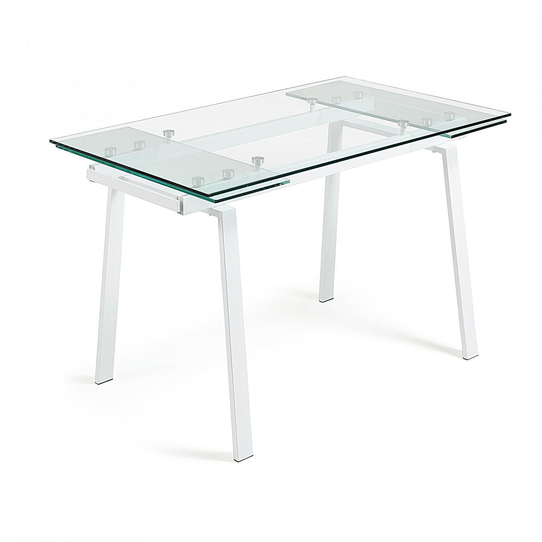 Mesa comedor glass varias medidas en - Medidas mesas comedor ...