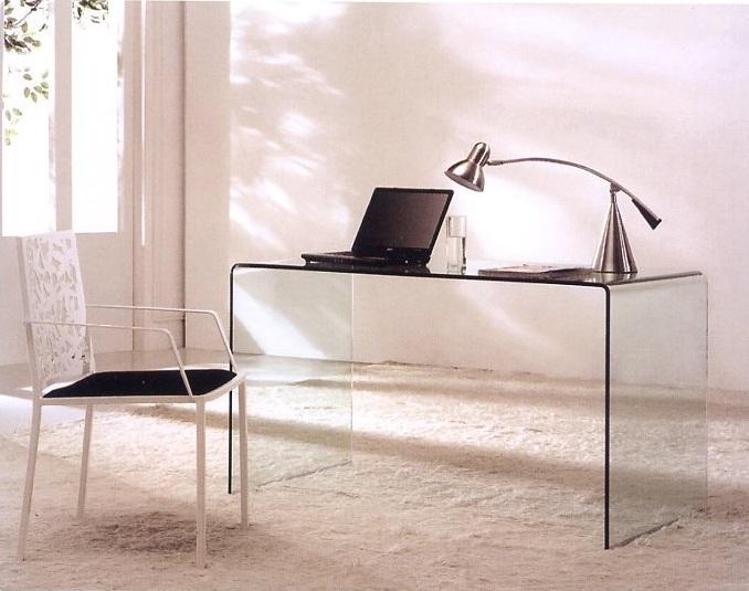 Mesa de despacho temple en - Mesa cristal despacho ...